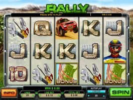 Picture of free slot machine Rally