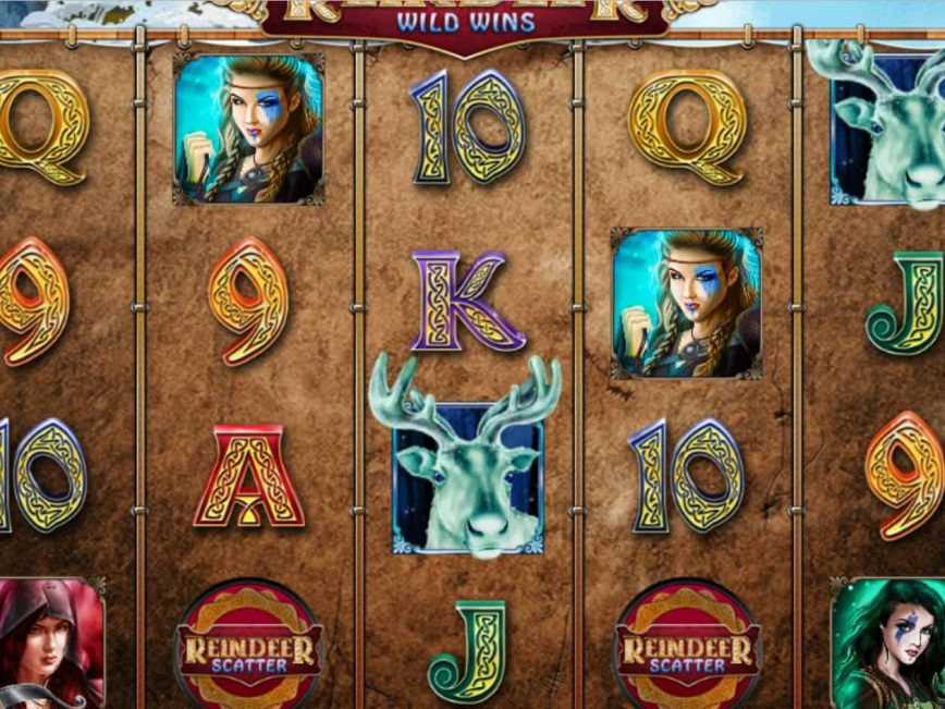 Picture of Reindeer Wild Wins free slot