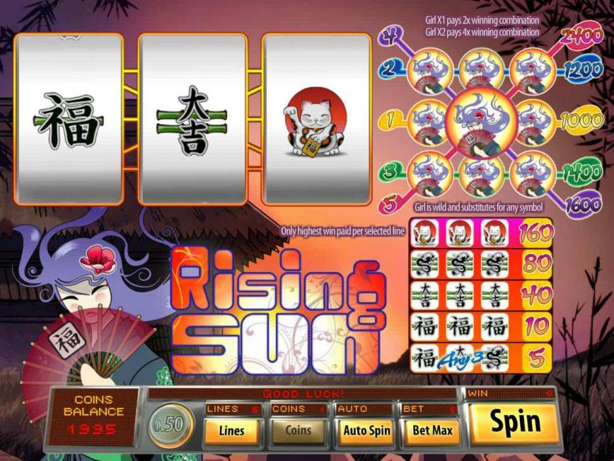 Free 3 Line Slots