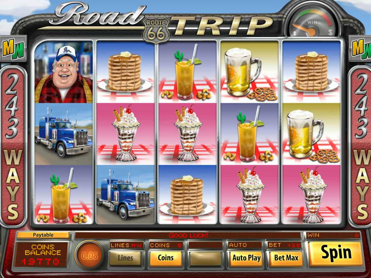 Road Trip Slot Machine Game