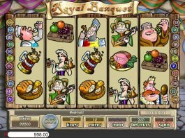 Free slot machine Royal Banquet for fun