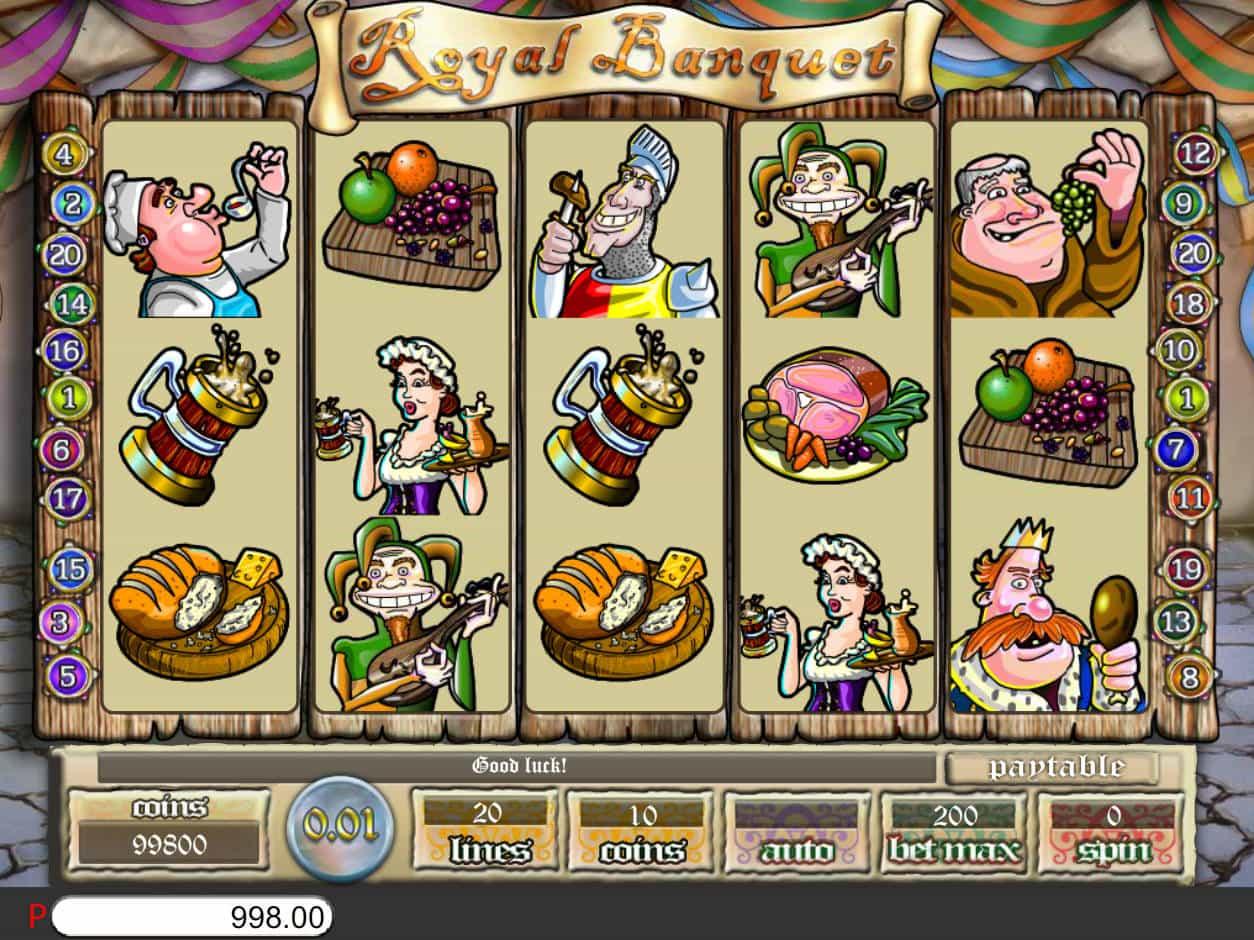 Royal Banquet Slot Machine Play Free Online Game