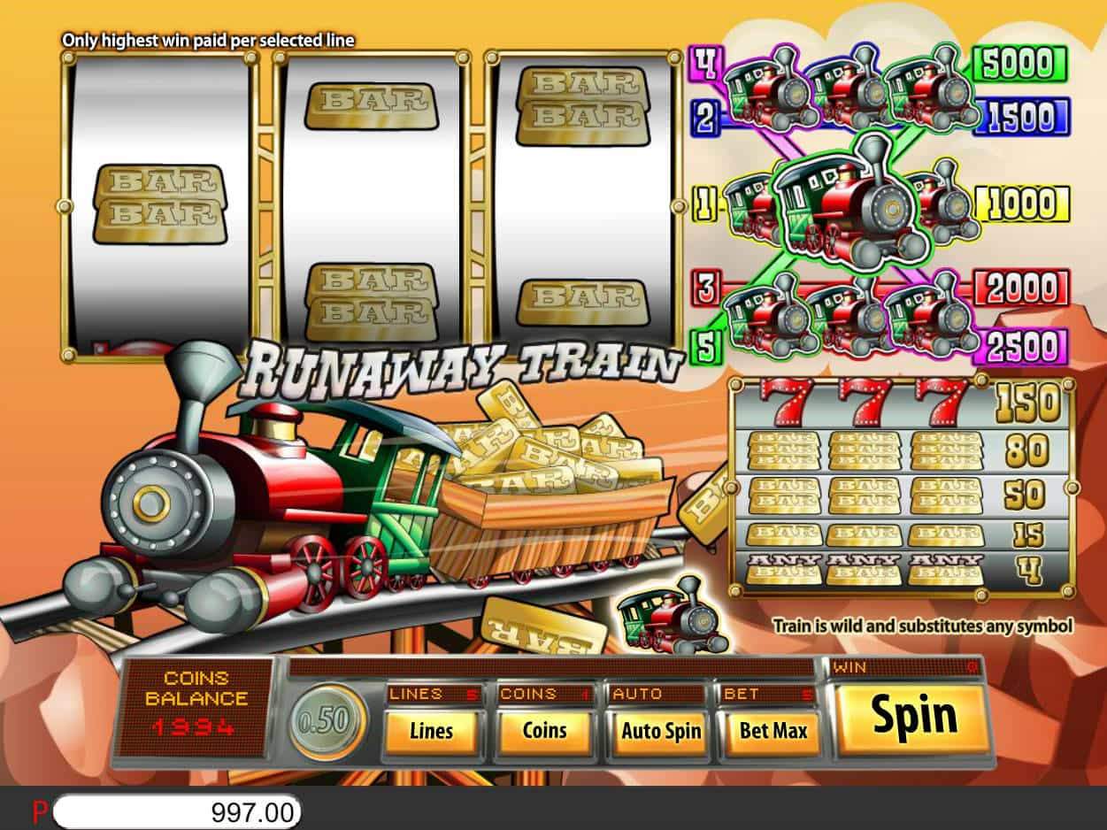 Train Slot Machine
