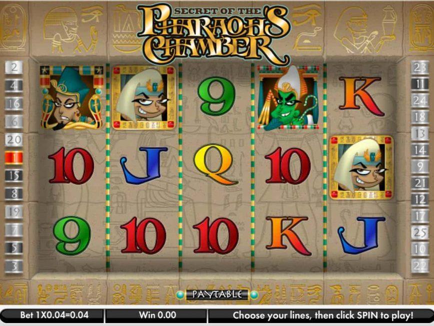 Secret of the Pharaoh's Chamber free slot