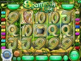 Picture of online free slot Shamrock Isle