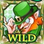 Wild symbol from online free slot Shamrock Isle