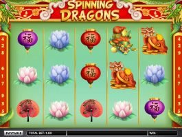 Play Spinning Dragons slot by Gamesys