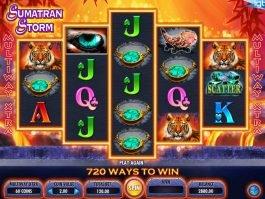 Spin casino game Sumatran Storm