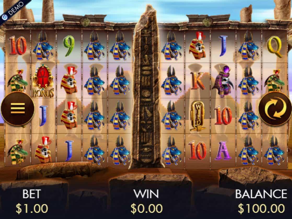 Temple Of Luxor Slot Machine