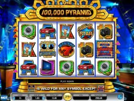 The 100,000 Pyramid free slot for fun