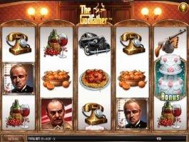 The Godfather online slot by Gamesys