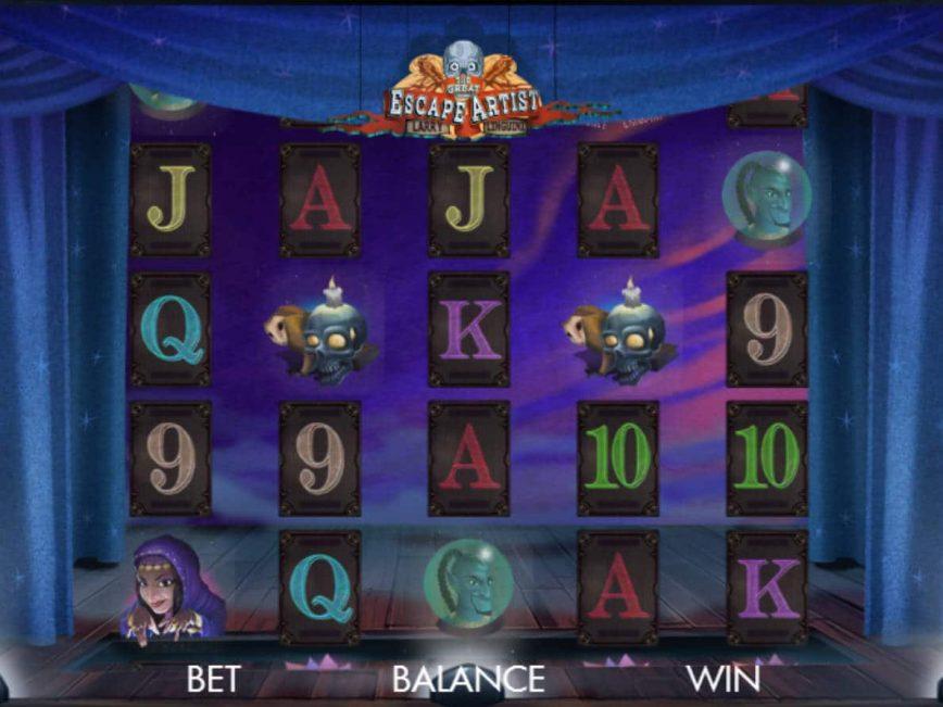 Slot machine for fun The Great Escape Artist