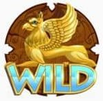 Wild symbol from online slot machine Treasures from the Gods