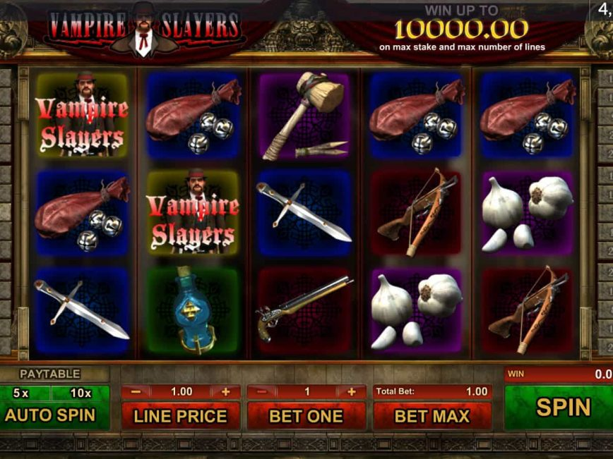 Picture from free slot Vampire Slayers