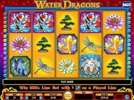 Slot machine Water Dragons for free