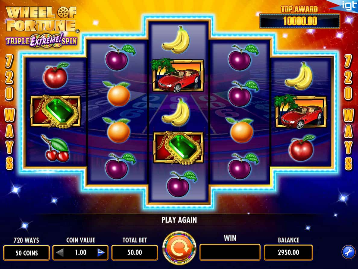 Play Free Wheel Of Fortune Slot Machines