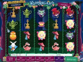 No deposit game Wonderland online