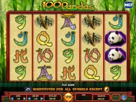 Free slot game 100 Pandas with no registration