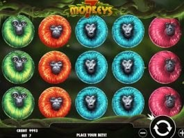 7 Monkeys slot machine with no registration