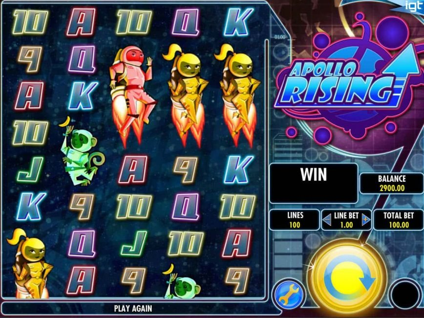 Online free slot Apollo Rising