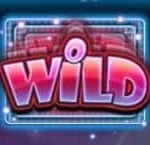 Wild symbol of Apollo Rising online slot