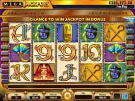 Play free slot machine Cleopatra Mega Jackpots