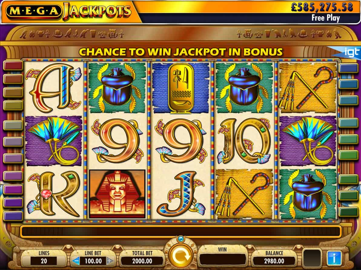 Cleopatra Slot Machine Free Play