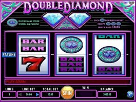 Slot machine for fun Double Diamonds