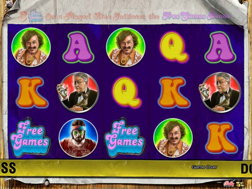 A picture of the online slot game Foxy Dynamite