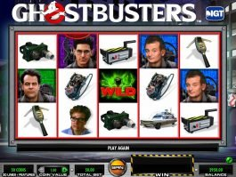 Slot machine for fun Ghostbusters