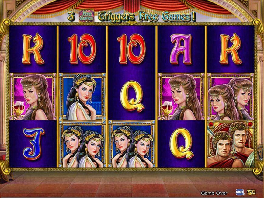 Slot machine Golden Odyssey with no registration