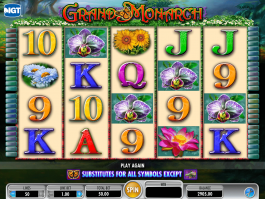 Casino free slot game Grand Monarch