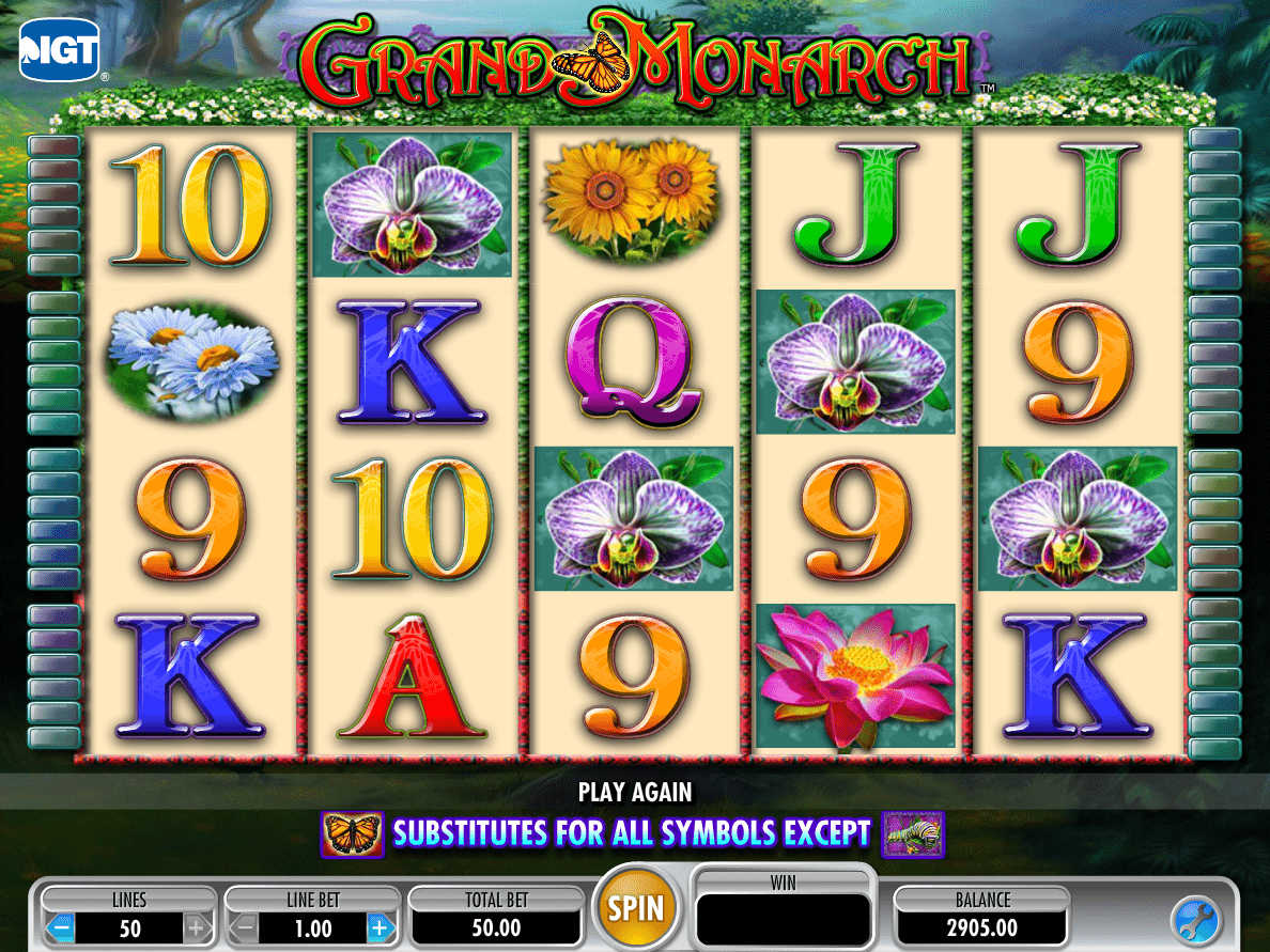 Grand Monarch Slot - Play Free Online Slot Machines