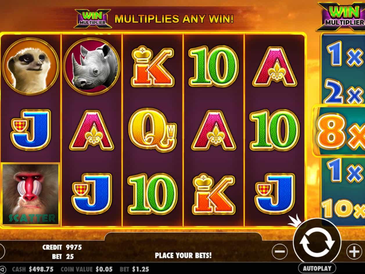 Free Slots Games Safari