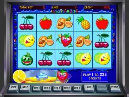 An image of the free casino game Juicy Fruits