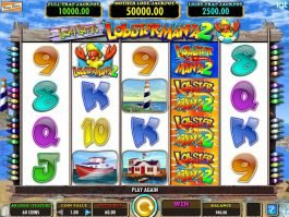 Casino online game Lucky Larry's Lobstermania 2