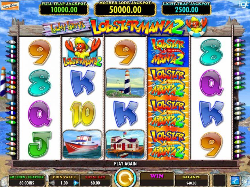 Lucky Larry Slot Machine Graphic
