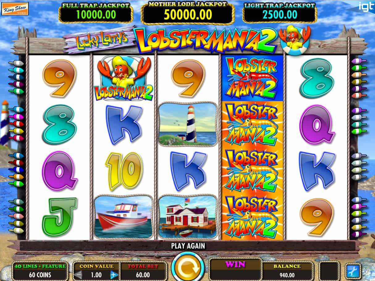Lucky Larry's Lobstermania 2™ Slot Machine - Play Free ...