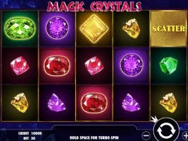 Free casino game Magic Crystals