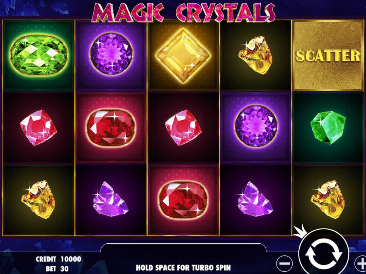 Magic Crystals Game