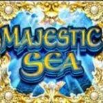 Symbol wild of casino slot game Majestic Sea
