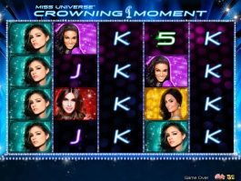 Miss Universe Crowning Moment free slot