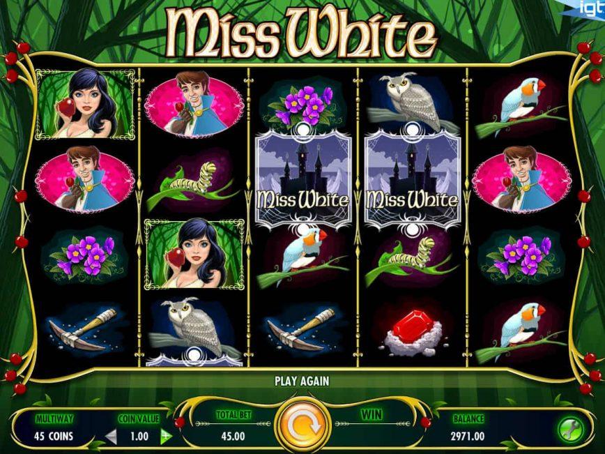 Free slot for fun Miss White