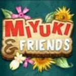 Wild of casino slot machine Miyuki and Friends