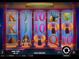 Casino free slot New Tales of Egypt with no deposit