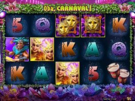 Free slot machine Oba, Carnaval! for fun