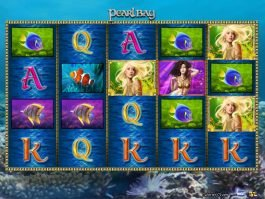 A picture of the online free slot Pearl Bay