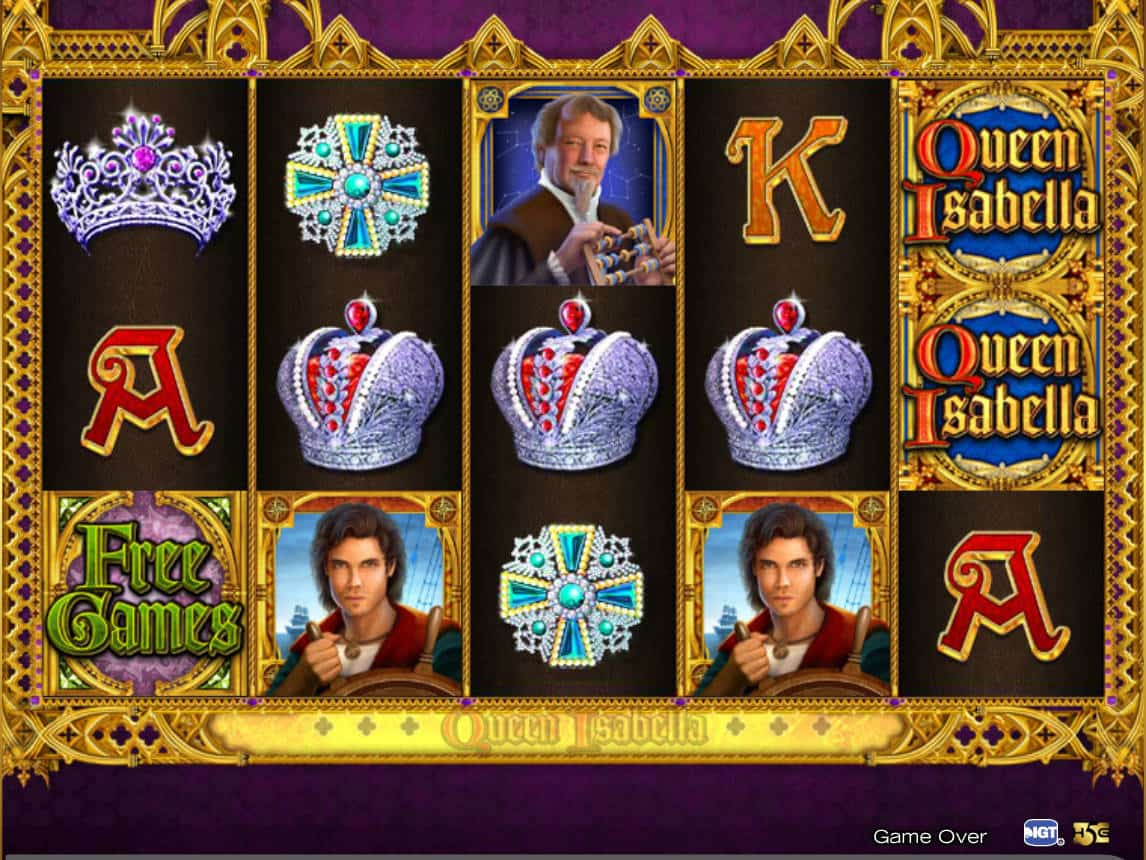 Queen Isabella ™ Slot Machine - Play Free Online Game ...