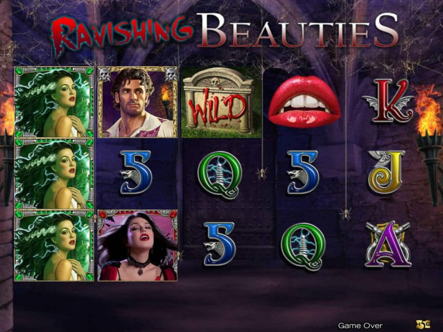 Casino slot game Ravishing Beauties with no registration