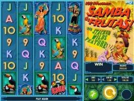 No deposit game Samba de Frutas!